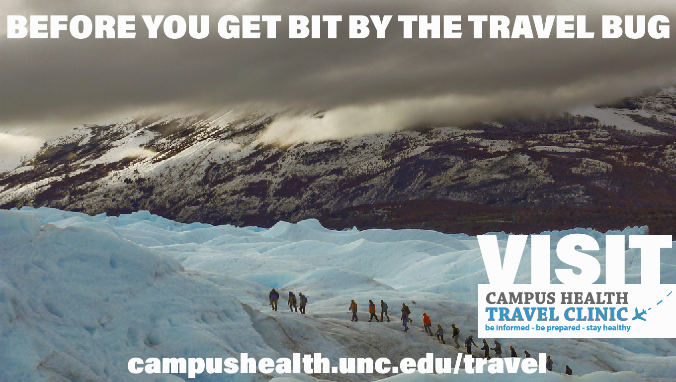 Before you get bit by the travel bug, visit campus health travel clinic