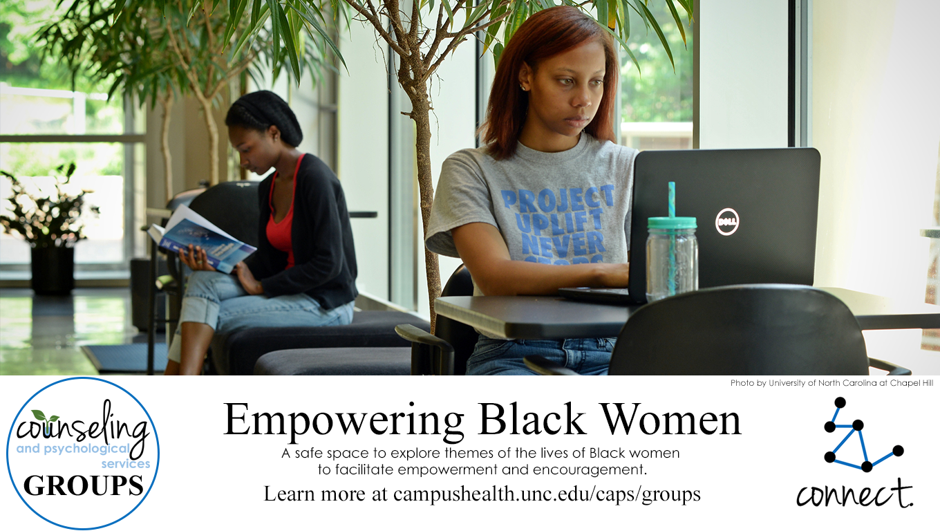 Women of color work in the Stone Center at UNC