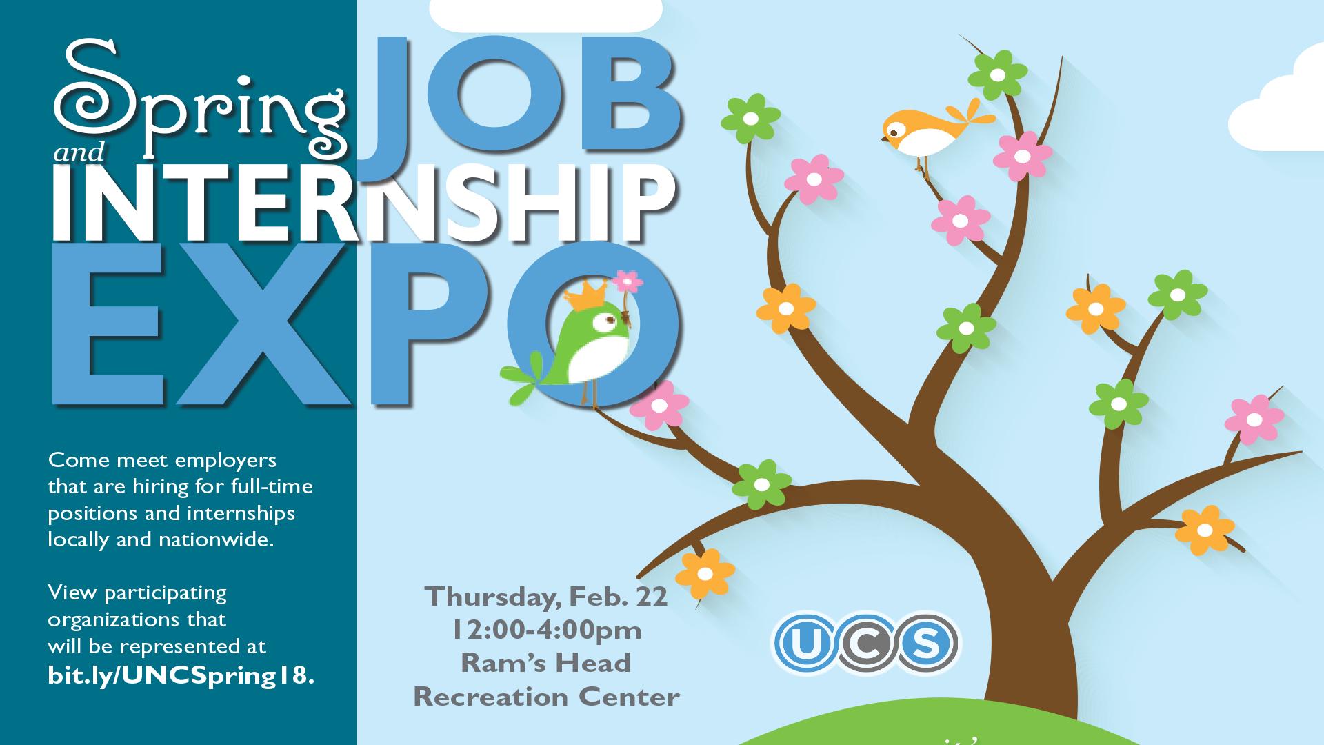 Spring Job & Internship Expo