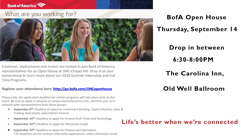 Bank of America | Digital Signage - Student Affairs