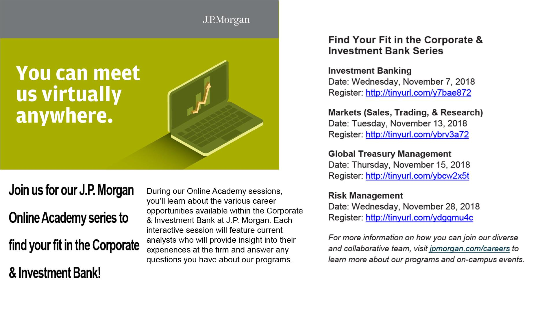 Dating Investment Banking Analist