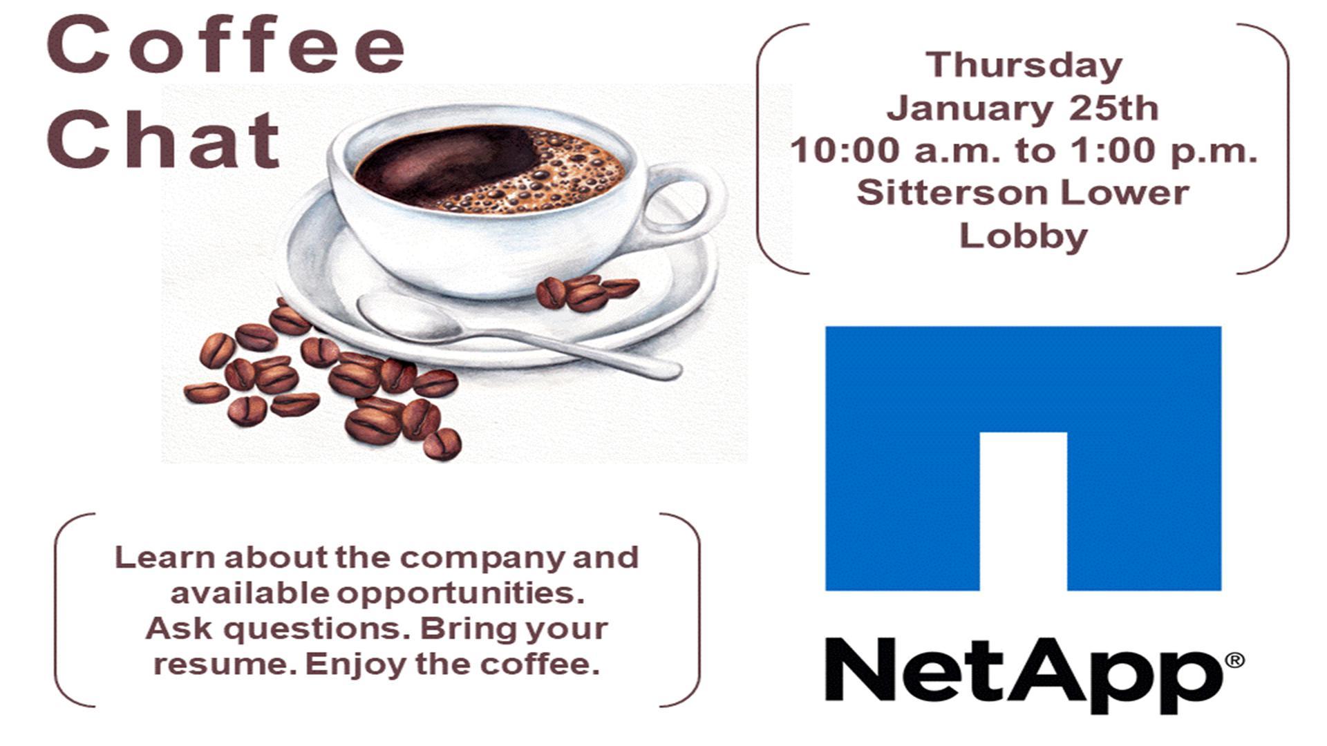 NetApp Coffee Chat