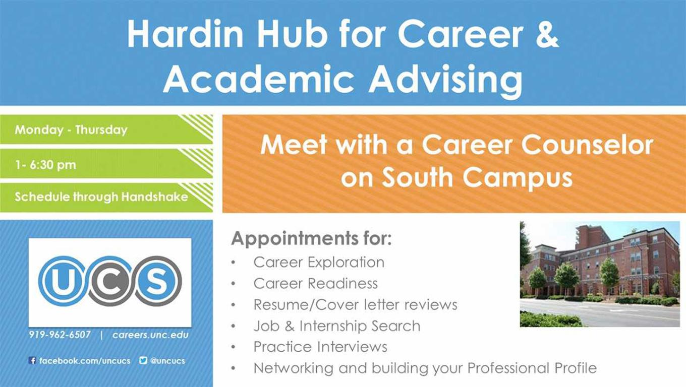 Hardin Hub for Career & Academic Advising