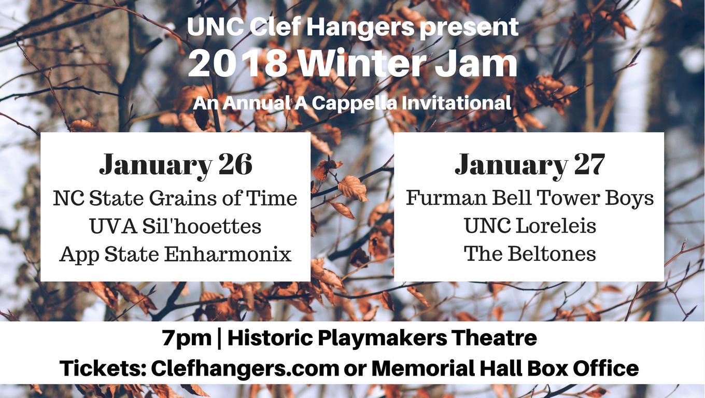 UNC Clef Hangers Present