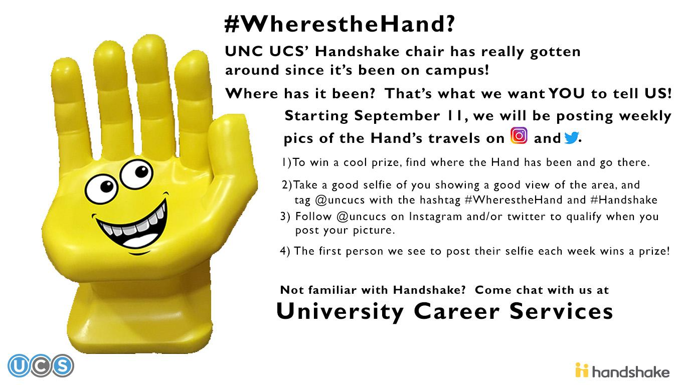 UNC UCS #Where's the Hand? Launch